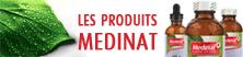 Les produits Médinat